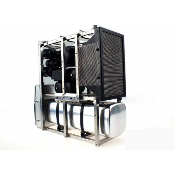 1/14 rc car truck parts metal Aluminum Frame holder full Set for ...