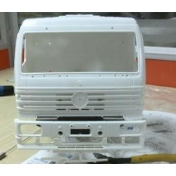 1/14 Mercedes 1838 construction truck  unpainted body set  fit tamiya chassis **