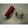 1/10 , 1/14 model metal made  fire extinguisher with holder