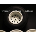 1/14 RC car option spare wheel with rubber tyre set  1+1
