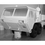 1/10.5  M977 military truck RC car 8X8 body and parts