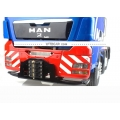 1/14 front construction hook bumper euro style for tamiya scaleart scania hino man actros 3363