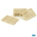 1/14 Euro pallet X 5 pcs 1:14 for tamiya truck man scania actros etc
