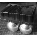 1/14 1/10 Metal Air tank x2  for Tamiya truck volvo FH12 man rc car