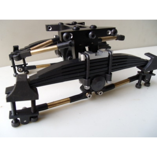 1//14 RC car option metal parts for Tamiya truck Air Suspension double rear SET