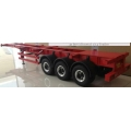 1/14 CNC Metal  rc car truck trailer ( 40ft RED )  for tamiya man scania r620 *