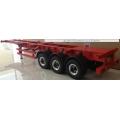 1/14 CNC Metal  rc car truck trailer ( 40ft RED )  for tamiya man scania r620 *