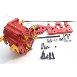 1/14 rc car truck for 1/10 tamiya 2 position 2wd/4WD Transmission Planetary King gear box