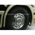 1/14 RC car option CNC wheel for scania Front 25mm wide  round adaptor