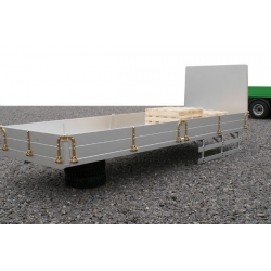 metal made CNC 1/14 DIY lorry truck trailer Flat trailer for tamiya scaleart