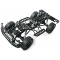 DIY 1/10 4X4 RC car truck crawler chassis prebuilt version