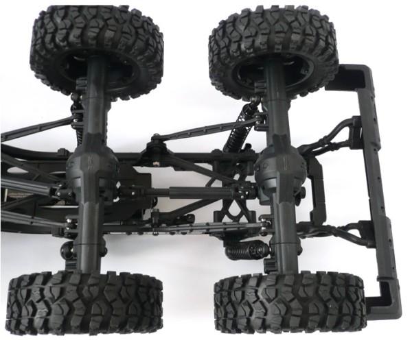 DIY 1/10 6x6 RC car truck crawler chassis prebuilt version *