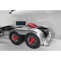 metal fender for two axle 1/14 king grand Hauler truck Trailer