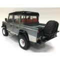 1/10 RC car metal made spare tyres holder bumper for D90 D110 land rover