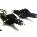 1/14 rc car truck parts for Tamiya 4X4 6X4 all Metal Rear Axle #3 + #4  w/ diff lock*