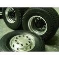 1/14 rc car truck Aluminum 7075 FRONT wheels SET  w/ tire for Tamiya Man scania R620