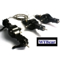 1/14 rc car truck parts for Tamiya 6x6 all Metal steering Axle #1 + #3 + #4  w/ diff lock**