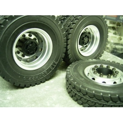 1/14 rc car truck rubber tires for Tamiya Man scania R470 R 620