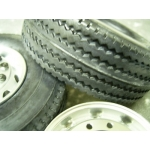 1/14 rc car truck 28 x 85mm wide tyres tire for Tamiya Man Scania .. etc